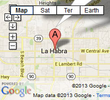 bail bonds in la habra map
